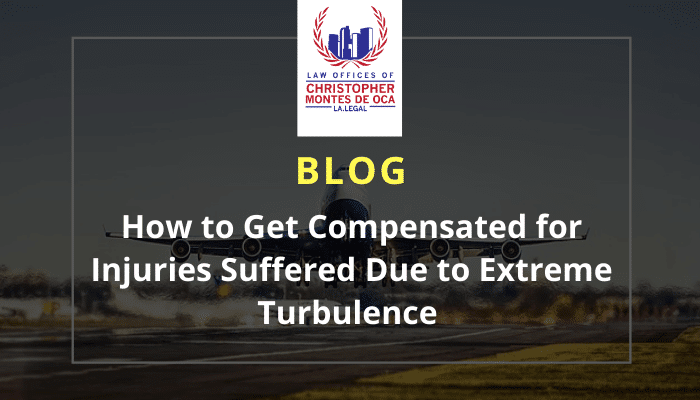 How to get compensated for injuries suffered due to extreme turbulence